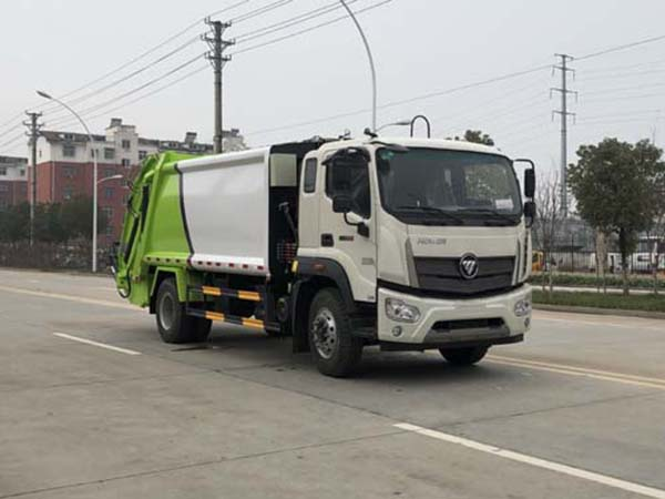 fotos Ruiwo 12 Camión de basura comprimido cúbico de emisión Euro VI