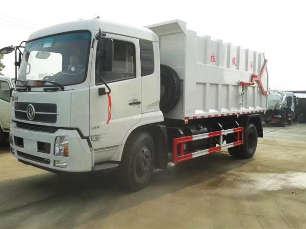 Стыковочный мусоровоз Dongfeng Tianjin (CLW5166ZDJT4)