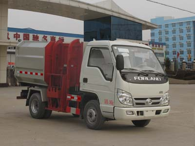 Foton  small  brand small hanging bucket garbage truck