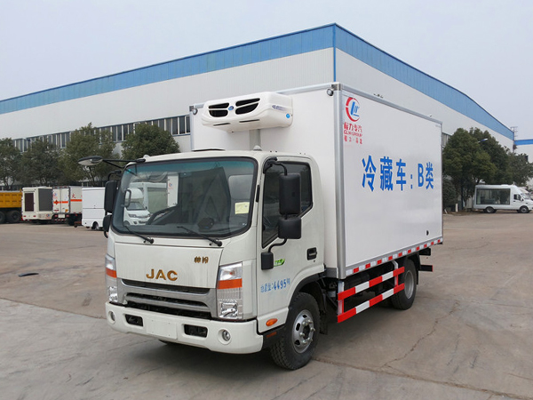 Caminhão refrigerado JAC Shuailing (corpo largo)