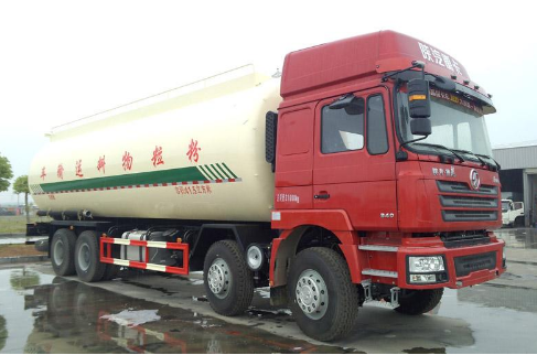 Shaanxi Automobile Delong نقل مواد المسحوق