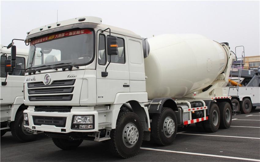 Shaanxi Automobile Delong 10-16 camion malaxeur cubique