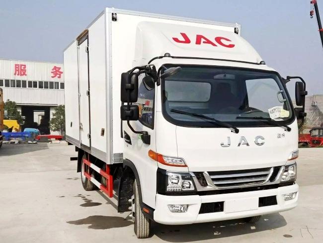 JAC Junling 5.2m شاحنة التبريد (HFC5120XLCP91K1C6V)