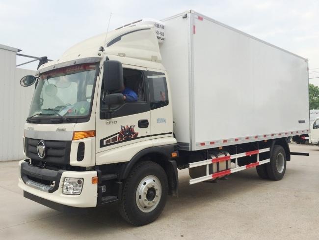 Fotos Omark 6.6 meters 7.3 metros 7.6 metros caminhão refrigerado (BJ5169XLC-A2)